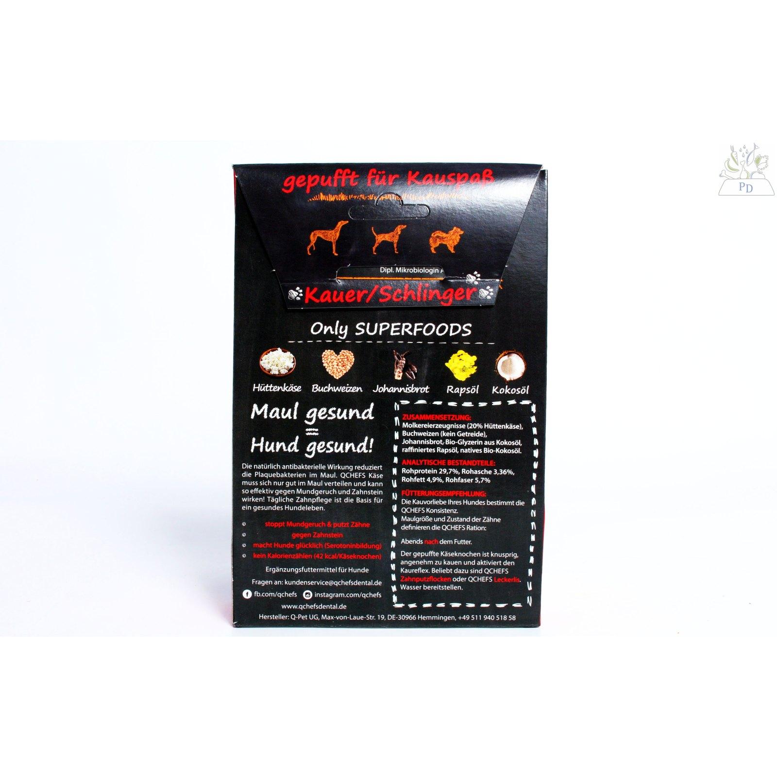 q chefs puffedsticks zahnpflege 75 g 5 99 trockengem se. Black Bedroom Furniture Sets. Home Design Ideas